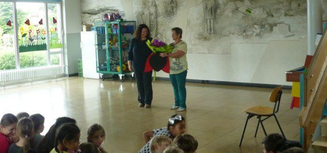 Abschied von Frau Rasig