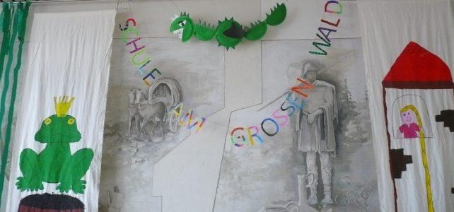 Faschingsfeier in der Schule am Großen Wald