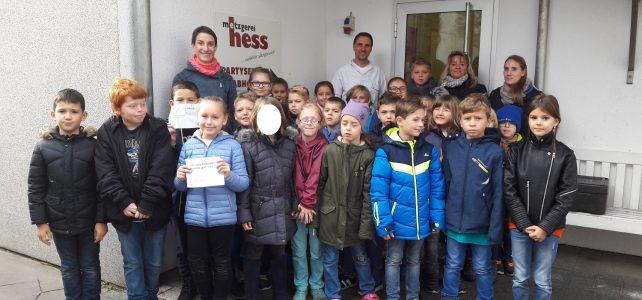 Klasse 3 zu Besuch beim Milchbauern und Metzger in Hoffenheim